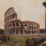 Roma, Riunione di famiglia, 110x150 cm