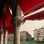 Venezia, Muleta per toro lagunare, 130x130 cm