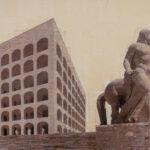 Roma EUR, Il Trascinatore, 125x220 cm
