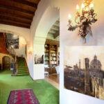 Roma e Verona, Saloni e Scalinata Torretta