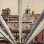 Genova, Il puntaspilli, 145x110 cm