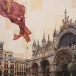 Venezia, Dialogo fra leoni, 100x130 cm